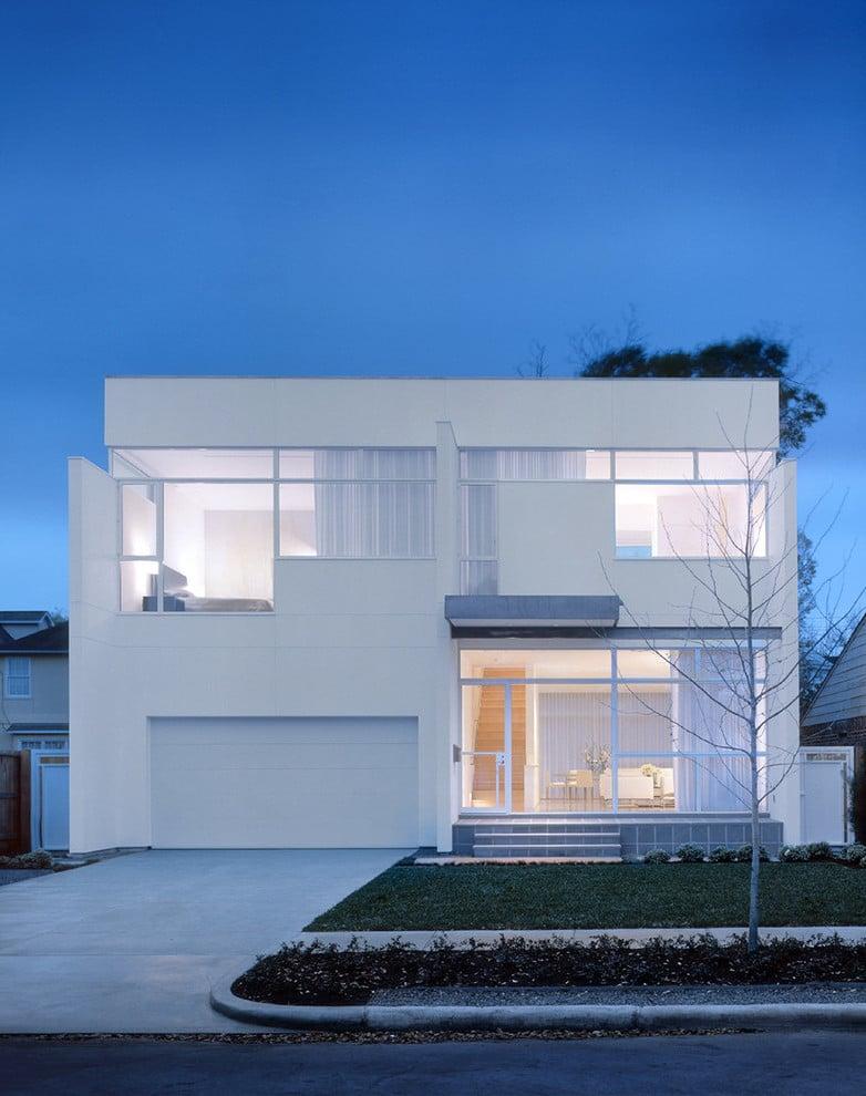 Hausstil Auswahl - Bungalows oder Architektenhäuser