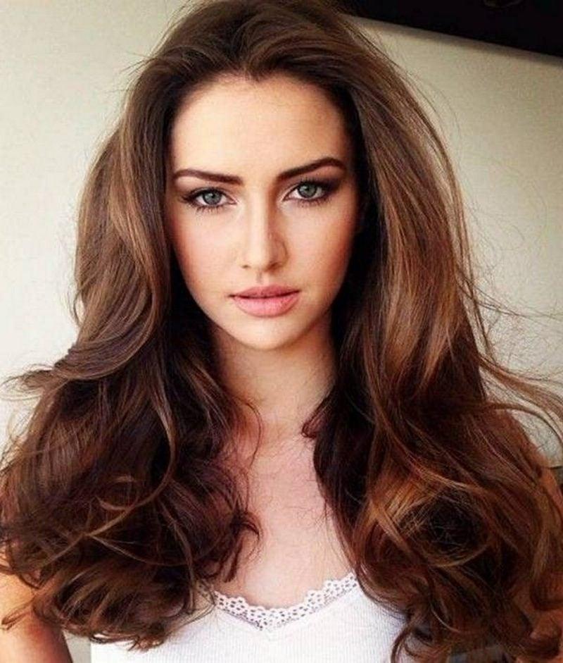 Hellbraun Haarfarbe Trendige Nuancen N 252 Tzliche Schminktipps
