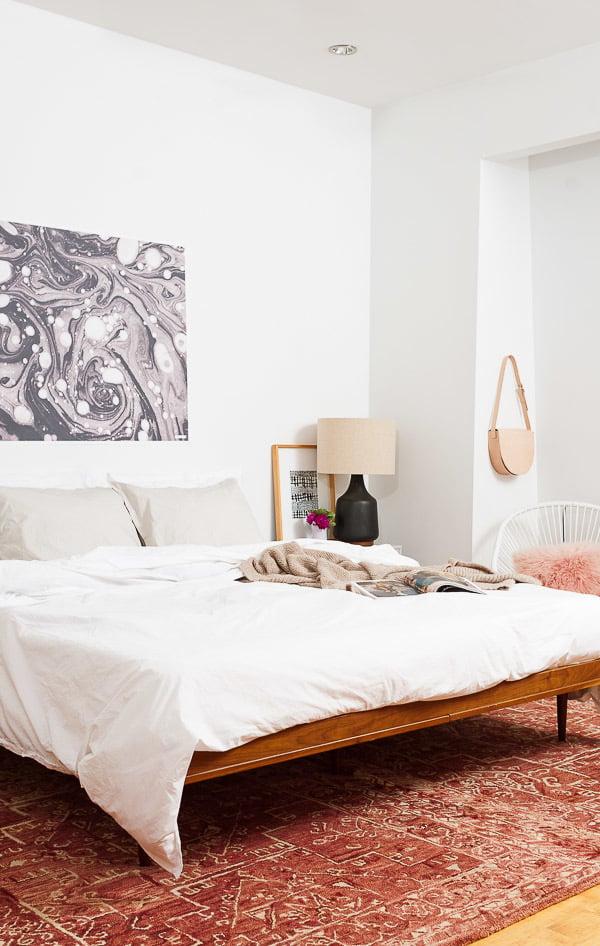 wandgestaltung schlafzimmer ideen weiß wohnideen