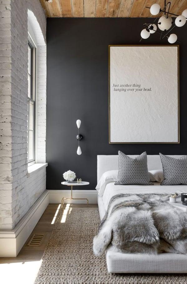 wandgestaltung schlafzimmer ideen tapete wanddesign wohnideen