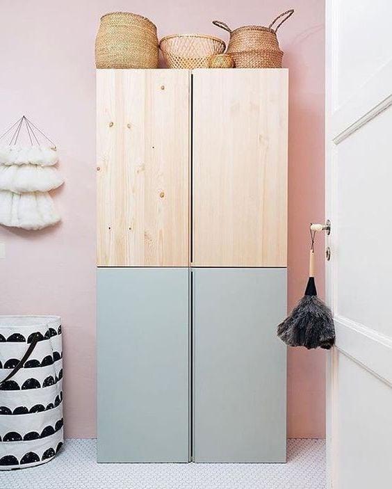 Ikea Garderobe im skandinavischen Stil