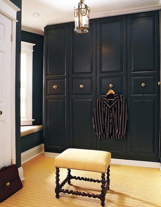 Ikea Garderobe im rustikalen Stil