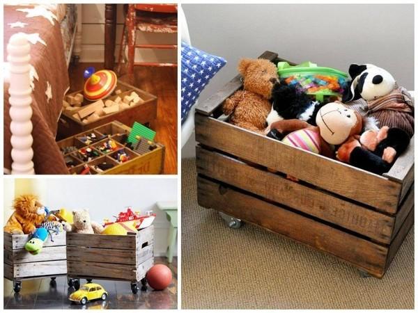 kinderzimmer ideen kisten schachteln spielplatz kinderzimmer einrichten