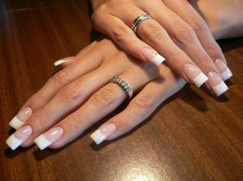French Nails selber machen klassisch und elegant