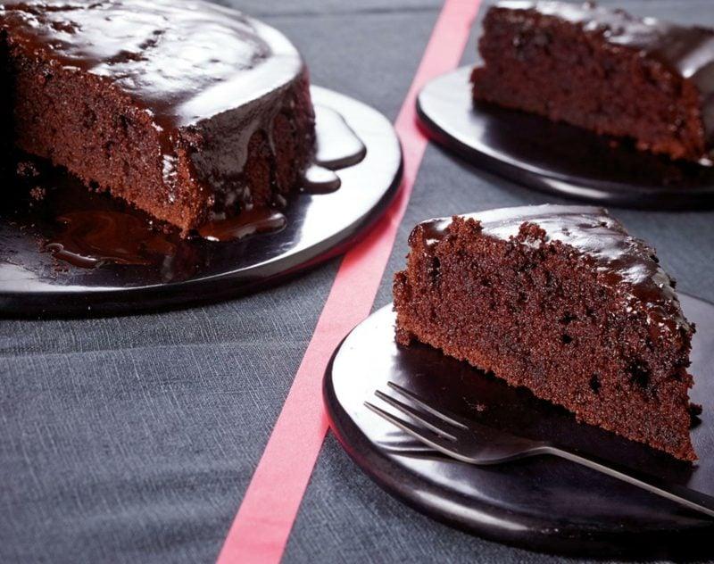 glutenfrei Kuchen backen Schokoladenkuchen