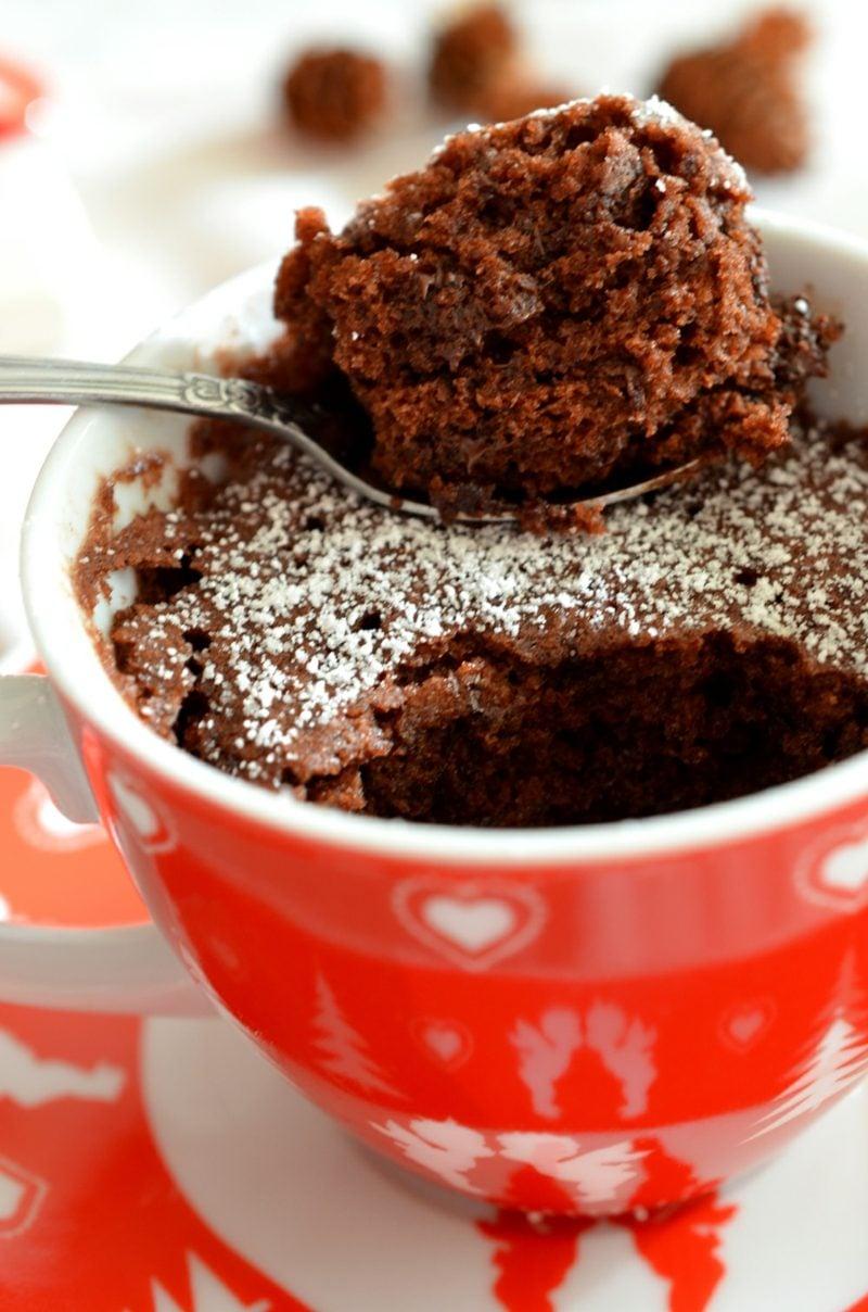 glutenfrei Kuchen backen schneller Tassenkuchen