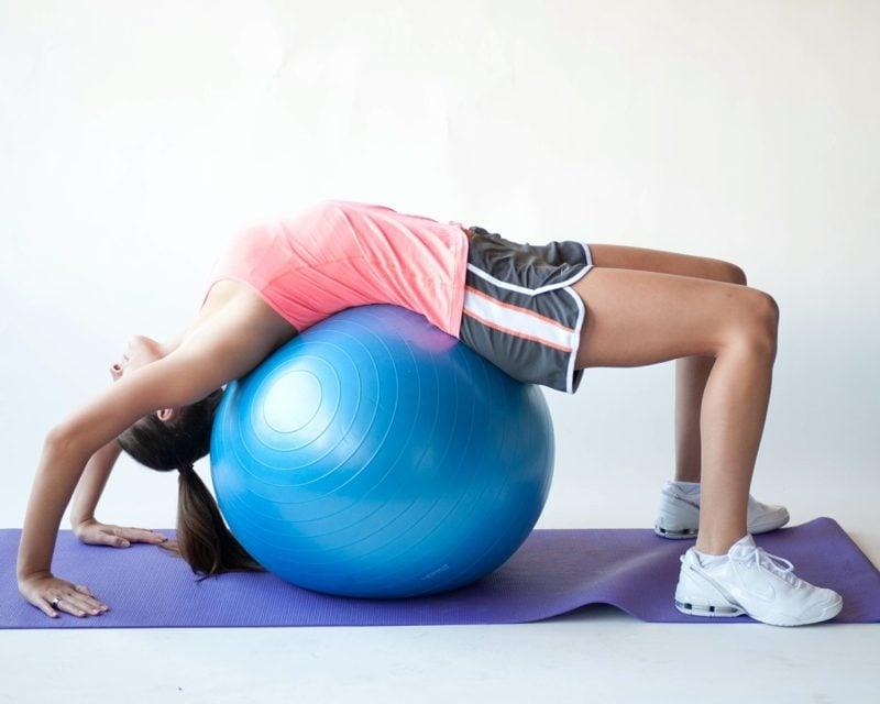 Pilates Übungen für Anfäbger
