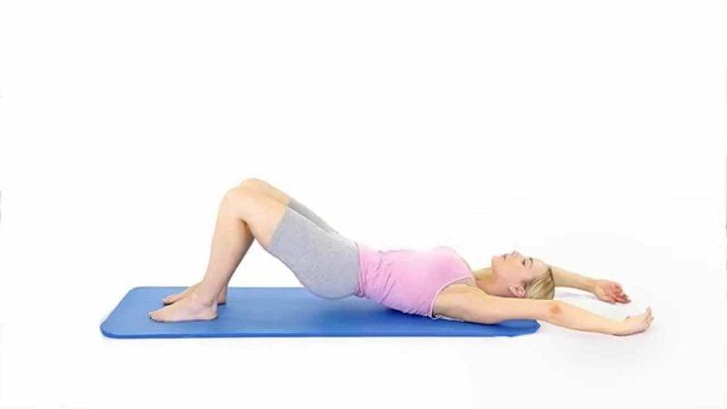 Bein- und Rückenübungen für Zuhause Pilates