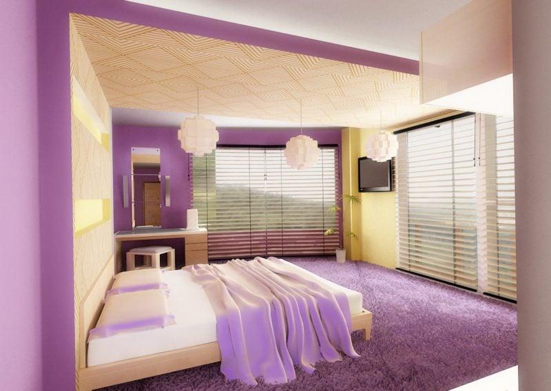 wandgestaltung schlafzimmer ideen wandfarben beispiele