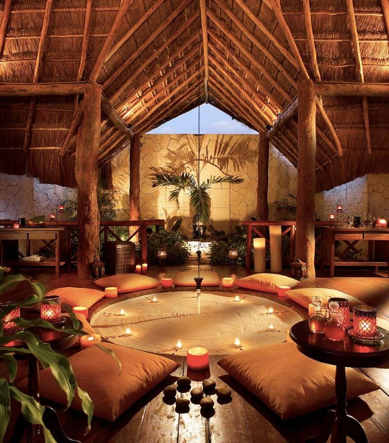 Ein ort der inneren ruhe einen meditationsraum in den for Spiritual bedroom designs
