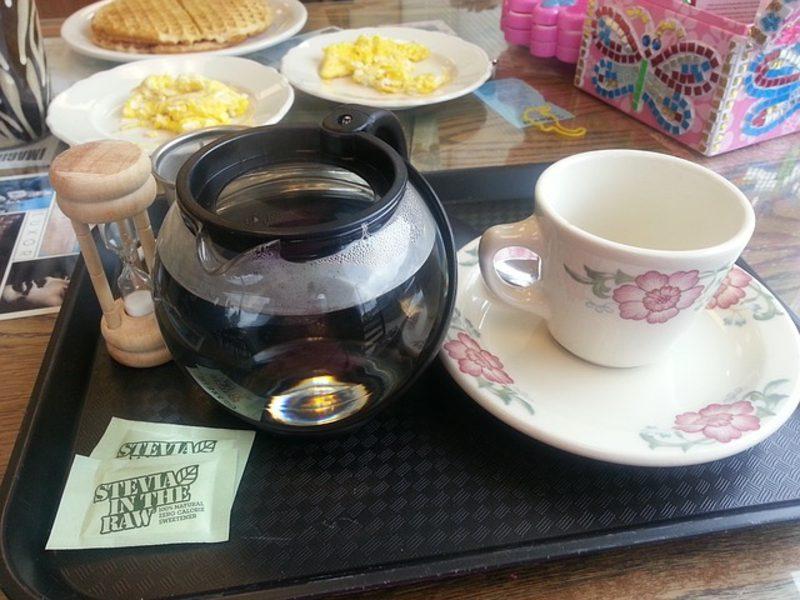 Stevia gesund Süssstoff Tee und Kaffee