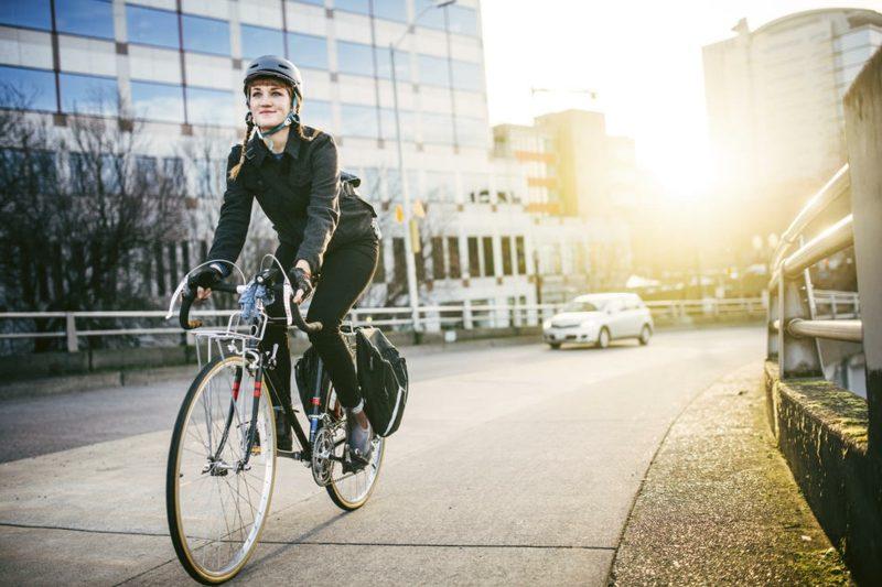 Kalorienverbrauch Radfahren in der Stadt