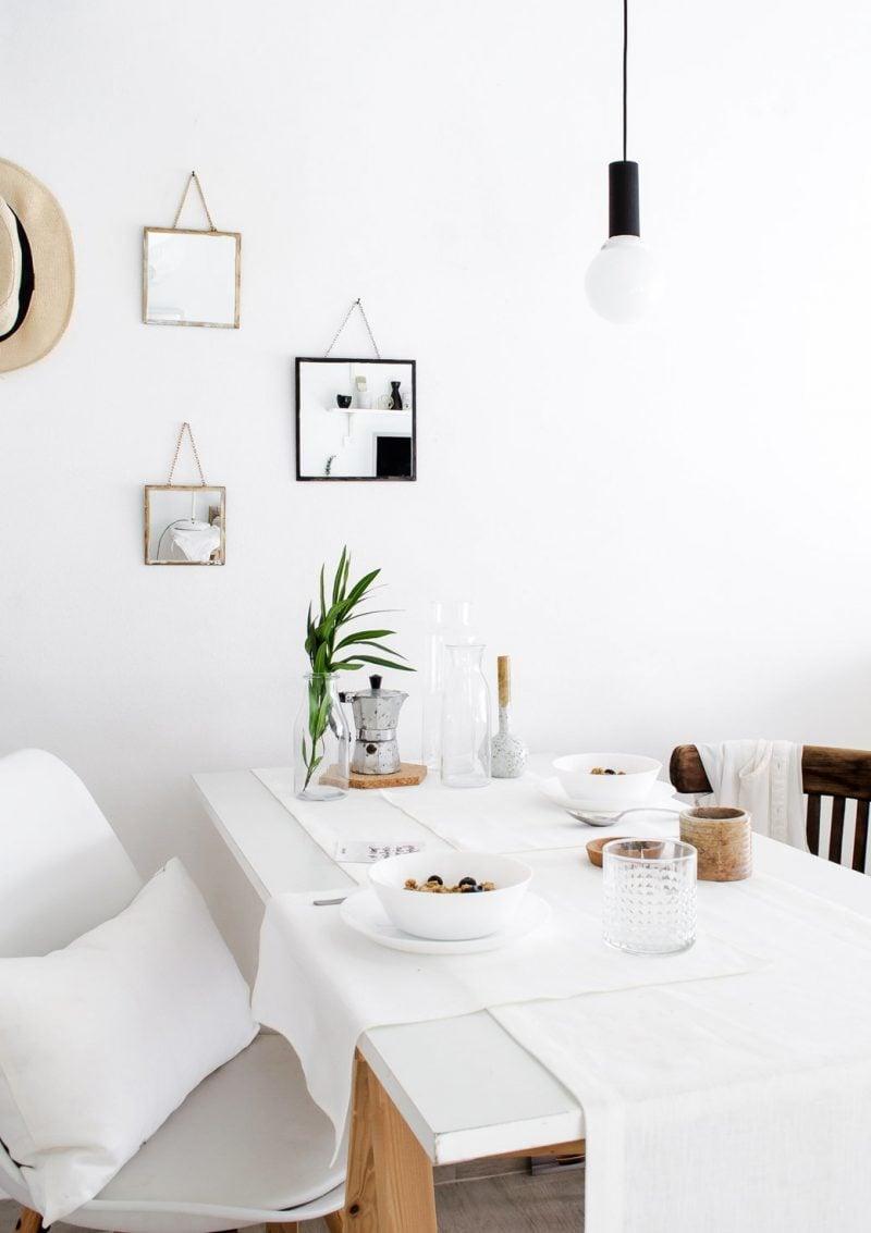 Moderne hängende Spiegel statt Wohnzimmer Bilder