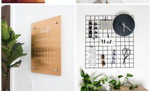 Moderne Wohnzimmer dekorieren - DIY minimalistische ideen