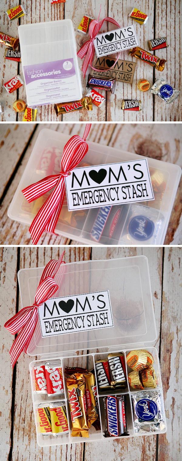 Süßes Geschenk für Mutter selber machen