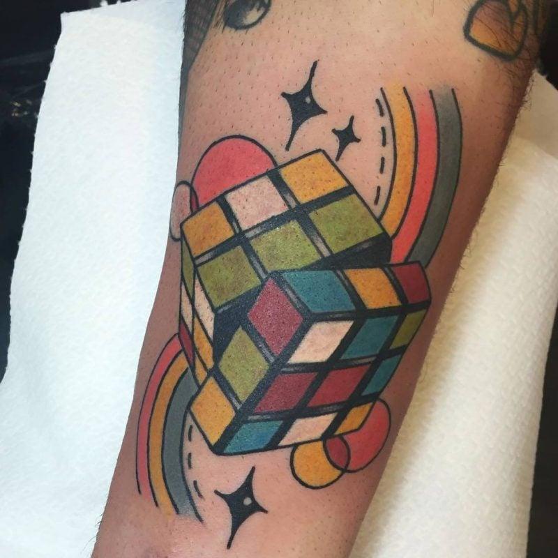 Old School Tattoo Rubbik