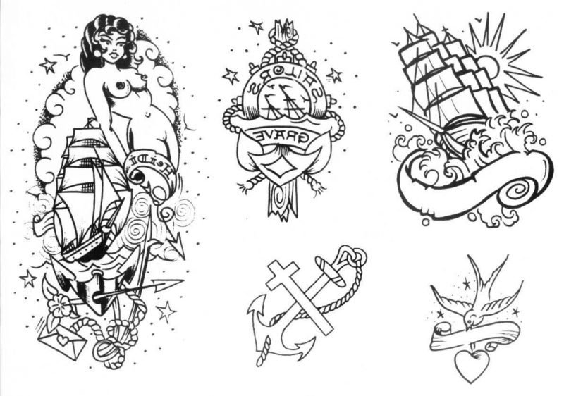 Old School Tattoo Motive
