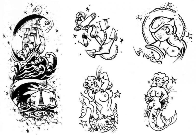 Old School Tattoo Meersmotive