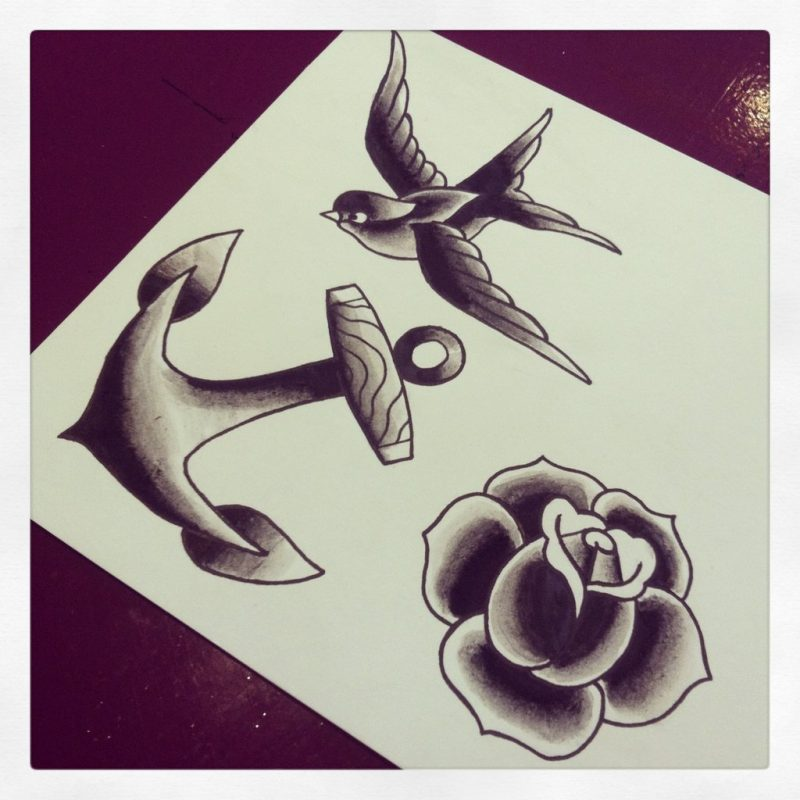 Old School Tattoo Ideen