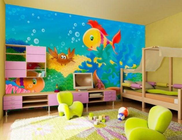 kinderzimmer ideen kinderzimmer einrichten tapeten