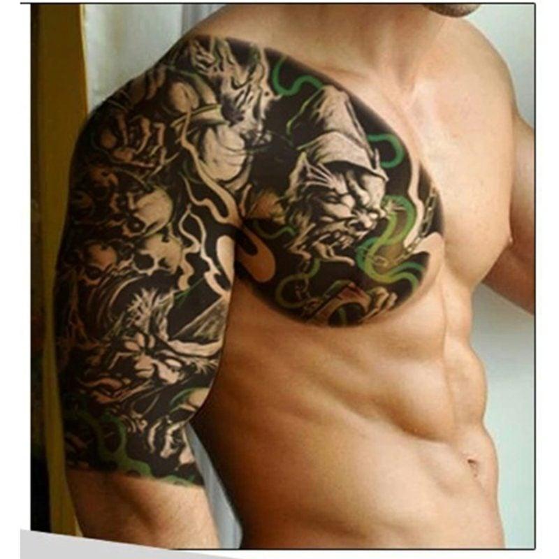 tattoo männerbrust