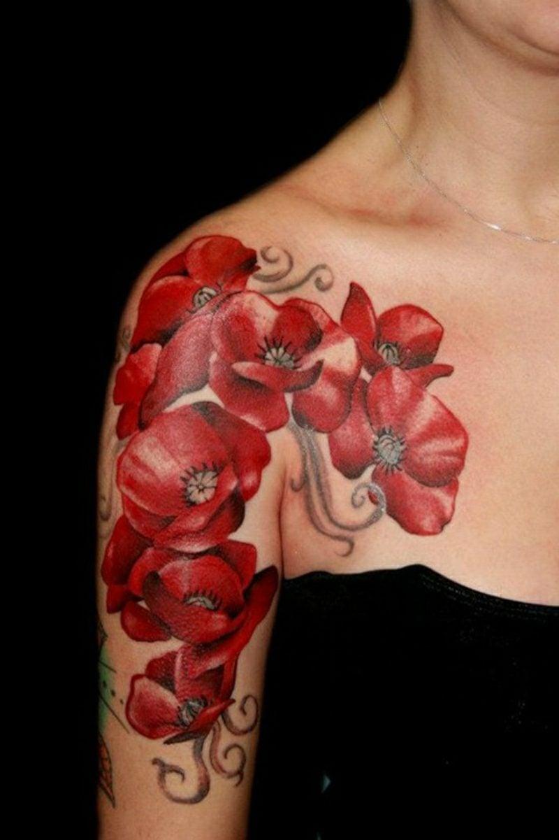 tattoovorlagen brust frau