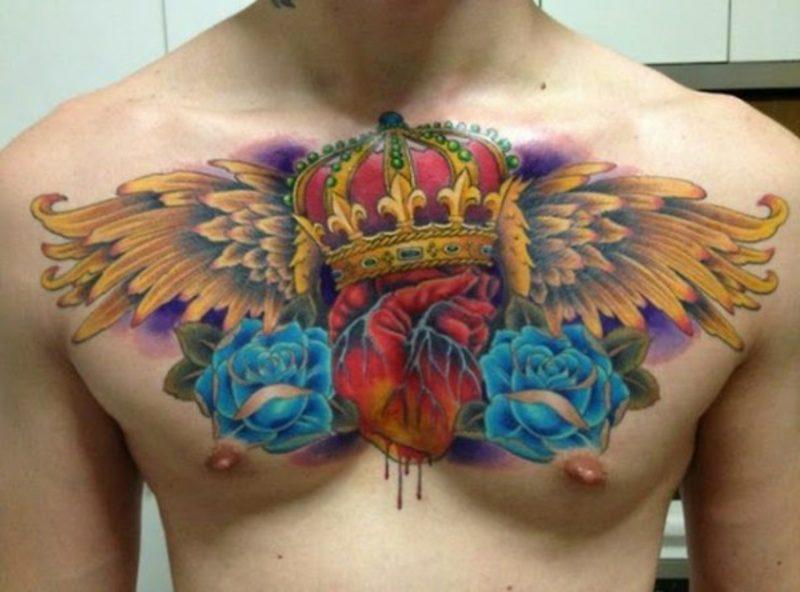 tattoo brust frau