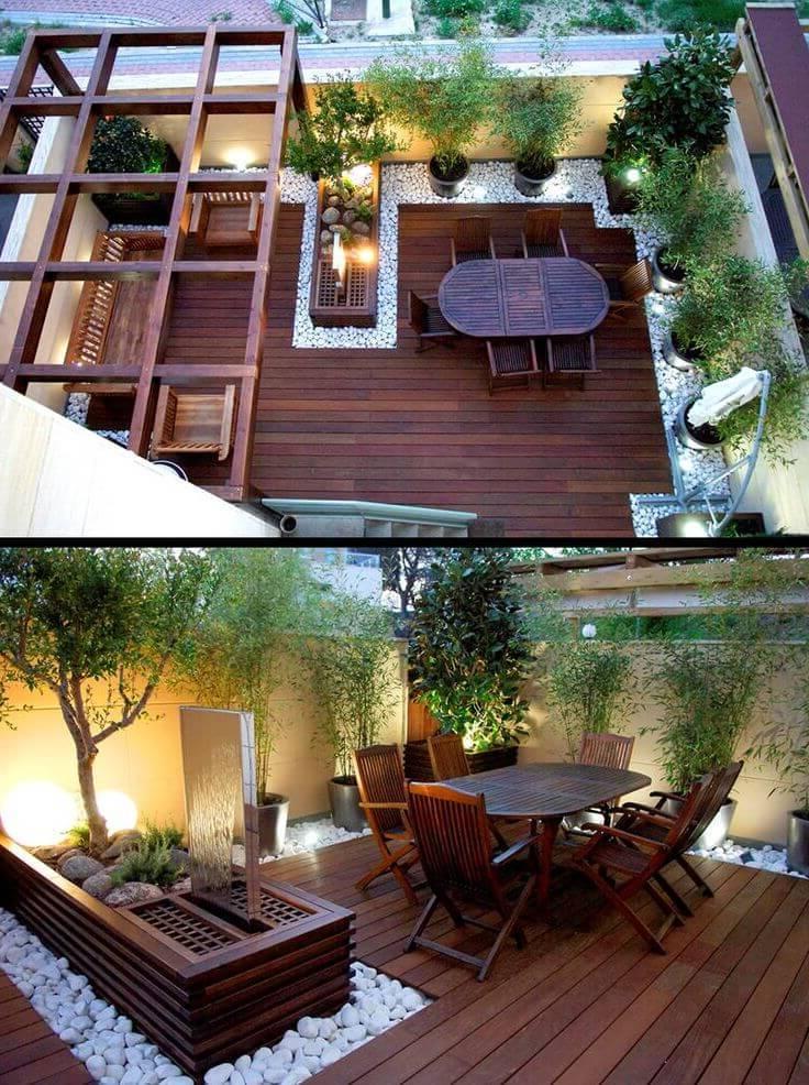 Dachterrasse gestalten tipps und 42 tolle ideen haus for Ideen fur kleine terrassen