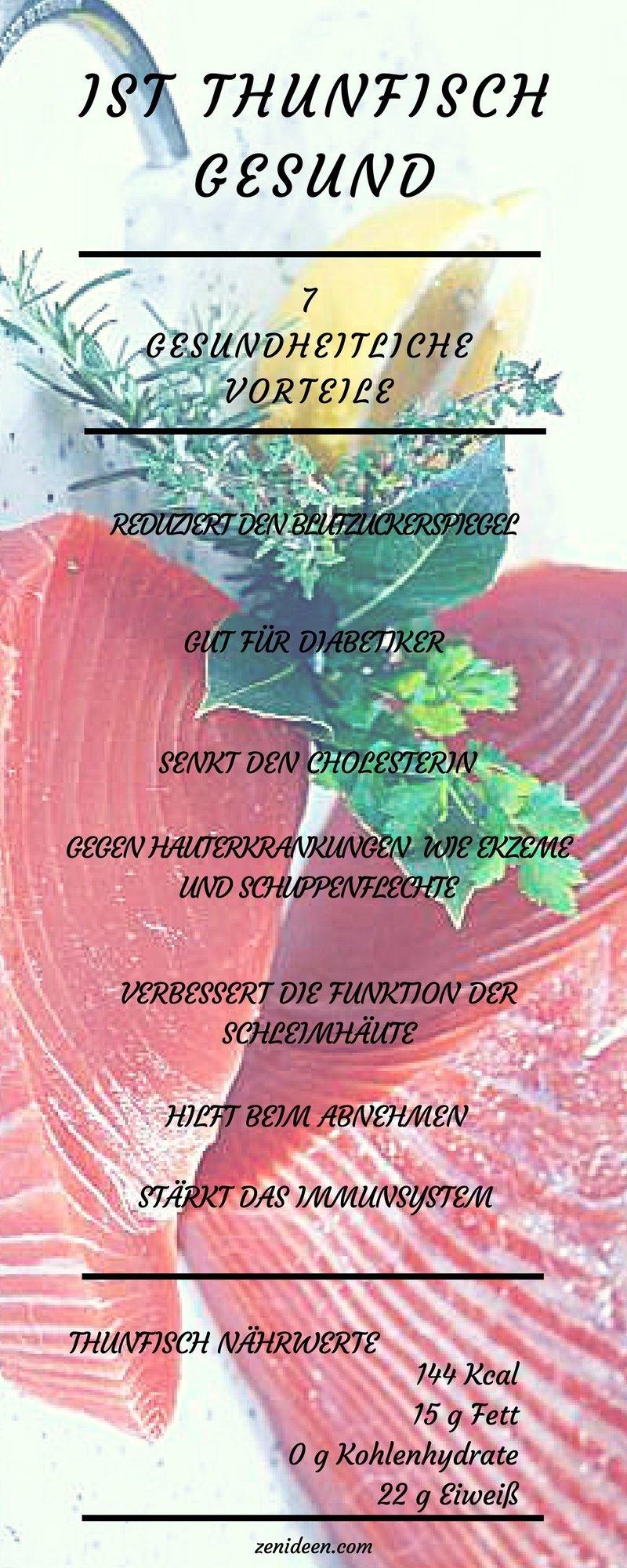 thunfisch gesund thunfisch nähwerte thunfisch kalorien