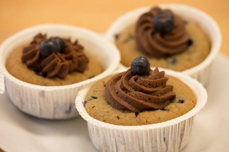 vegane muffins schoko