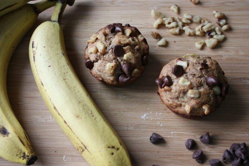 vegane muffins apfelmus