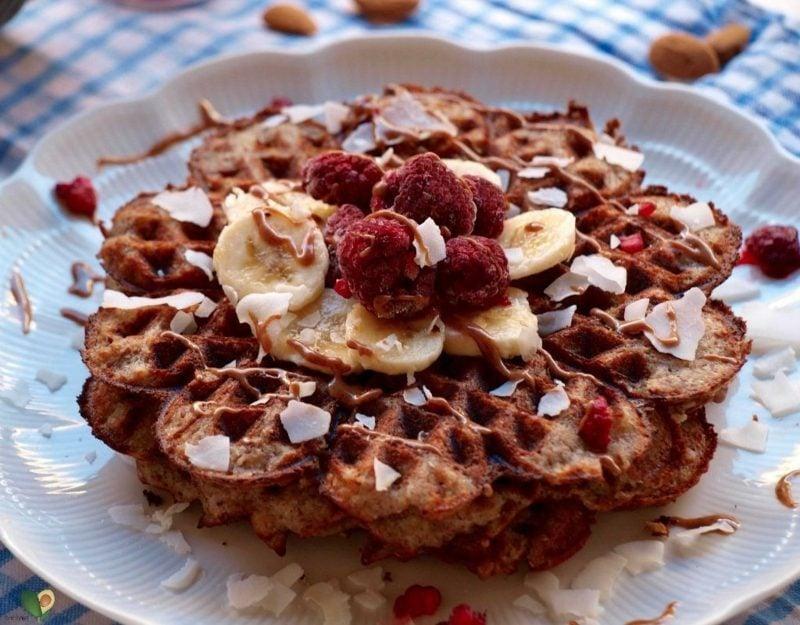 waffeln ohne ei vegane pancakes