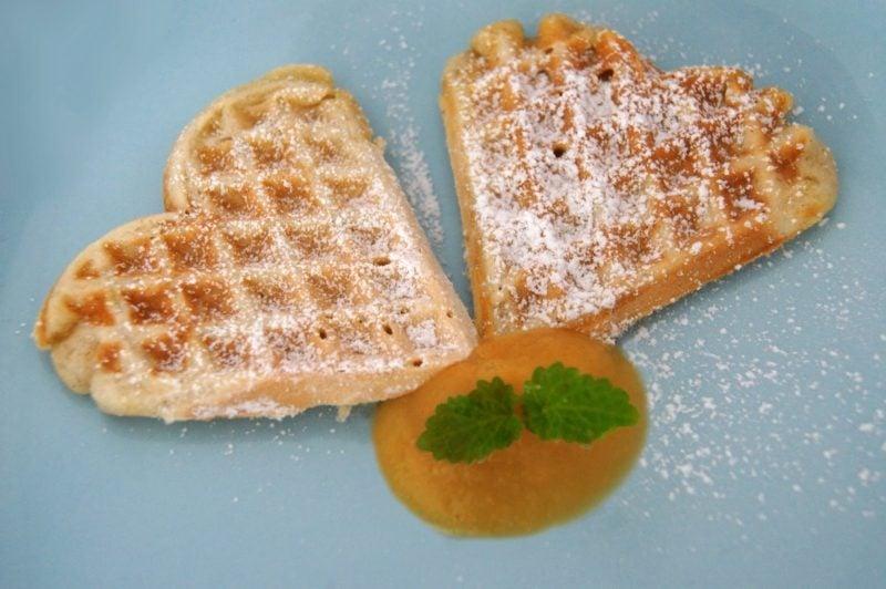 waffeln rezept Knusprig, fluffig, zahm: Vegane belgische Waffeln