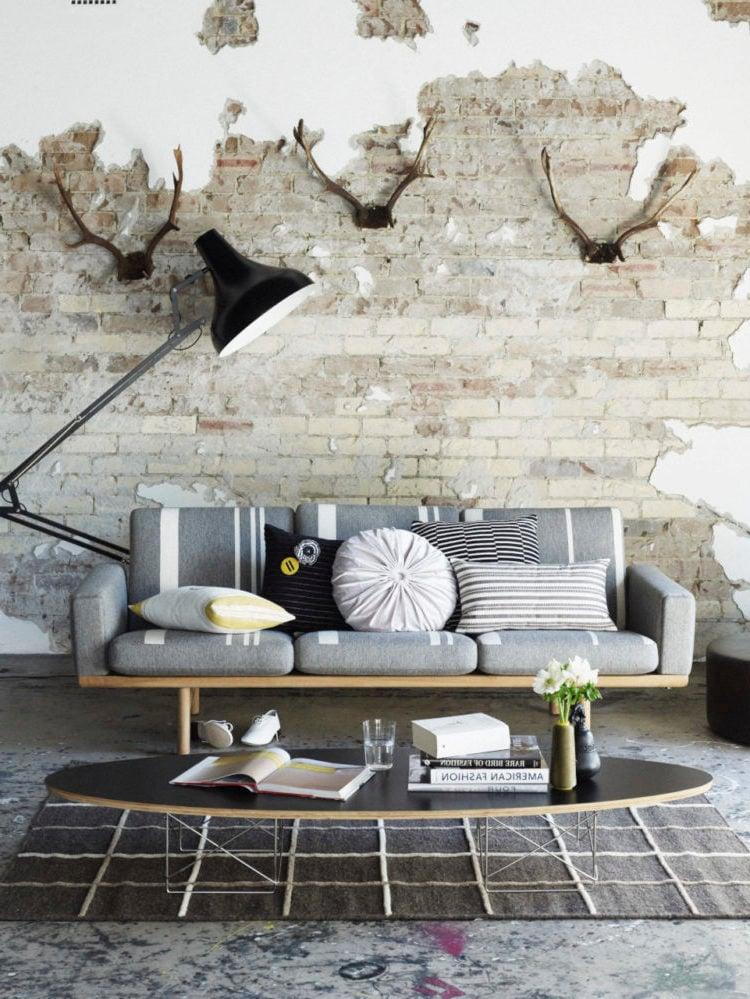 wandgestaltung schlafzimmer ideen wandgestaltung steinoptik