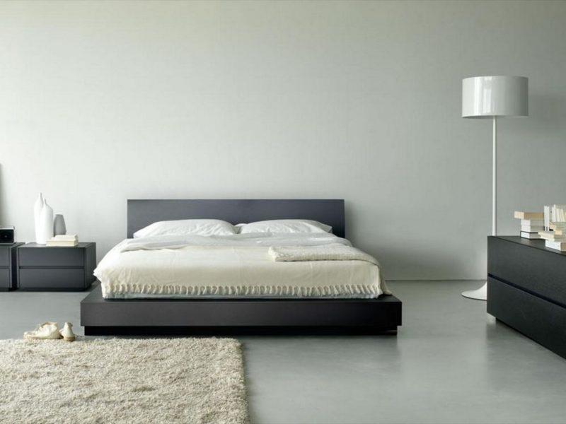 wandgestaltung schlafzimmer ideen helle wandfarben weiß grau wohnideen