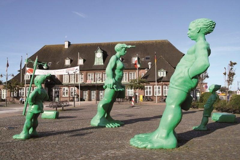 Westerland - wo die die meisten Hotels und Ferienwohnungen sich befinden