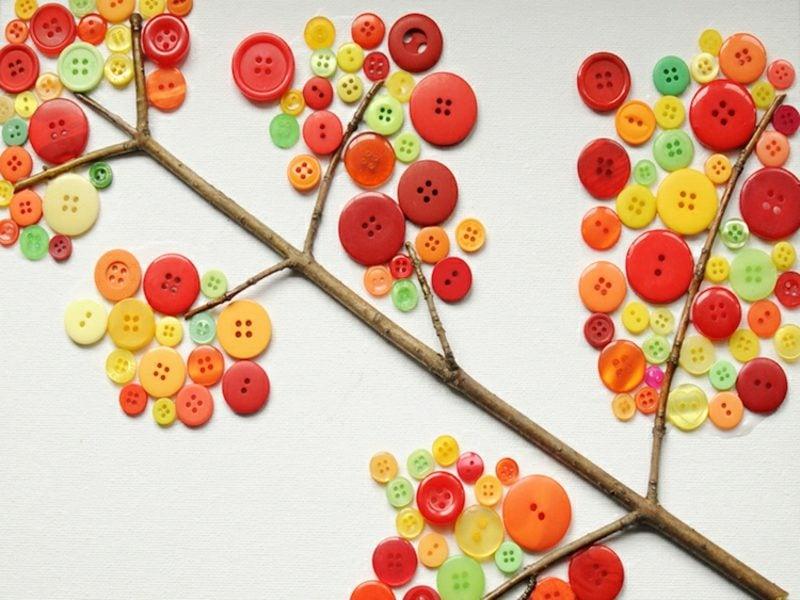 Herbstdeko selber basteln kreative Ideen
