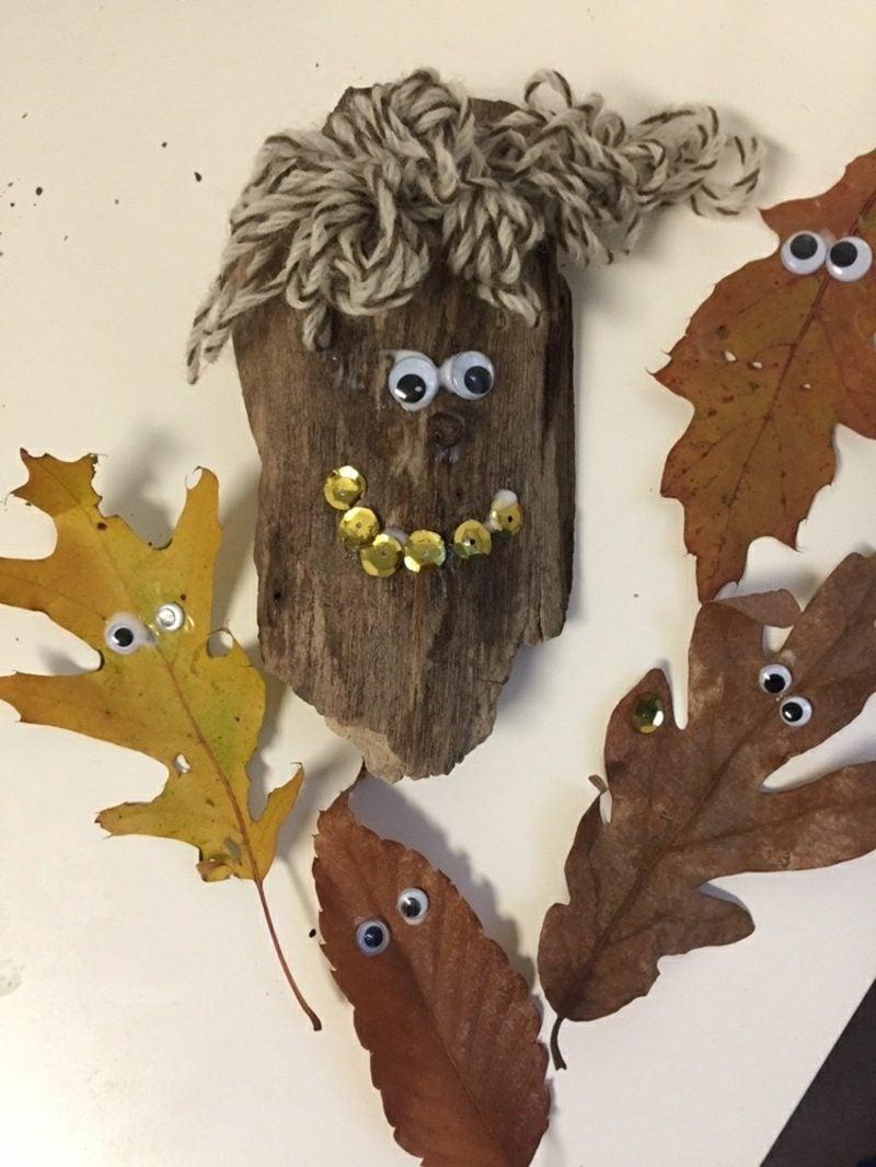 Herbstdeko basteln mit den Kindern