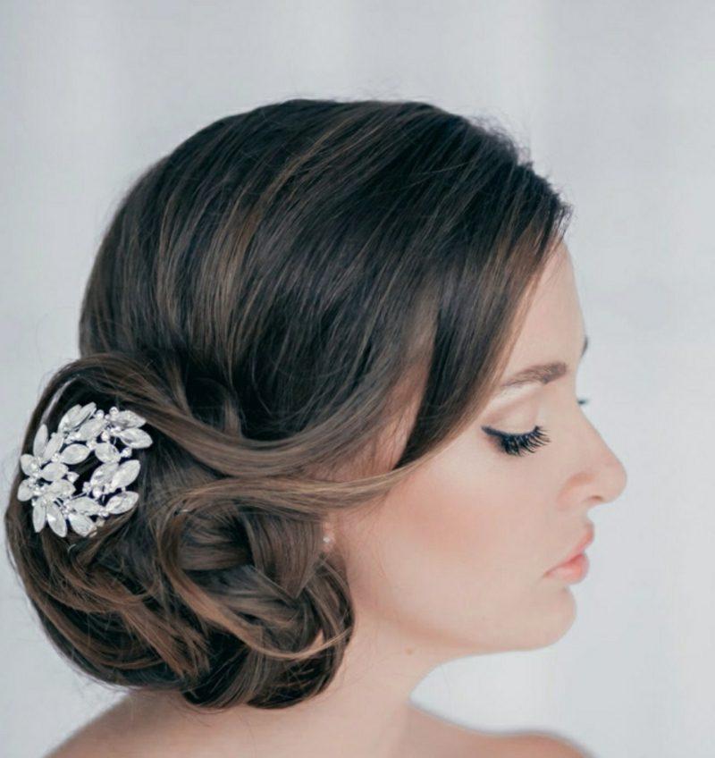 Brautfrisuren elegante klassischer Dutt