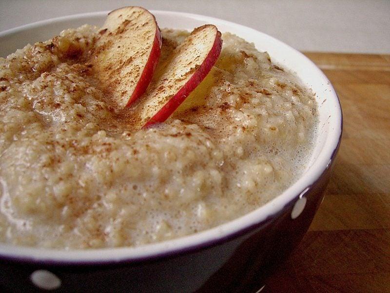 Couscous gesund Dessert mit frischem Obst