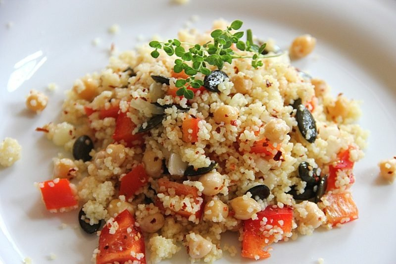 Couscous gesund Couscous Salat zubereiten