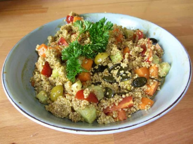 Couscous gesund schnelle Rezepte salat