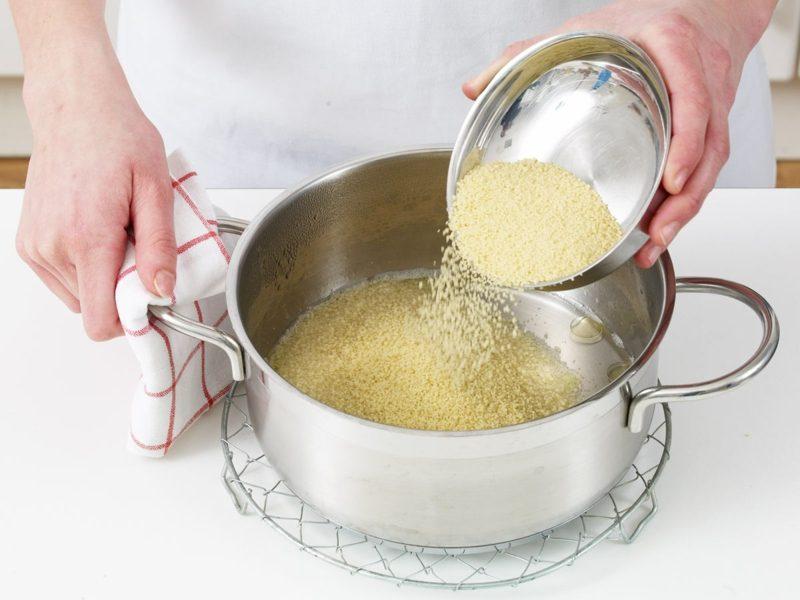 Quinoa Kohlenhydrate Vergleich Couscous