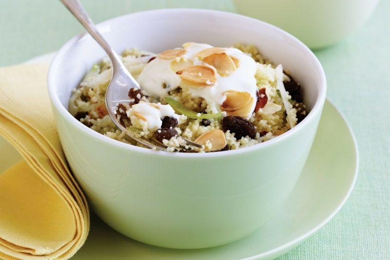 Couscous zubereiten zum Frühstück süssig