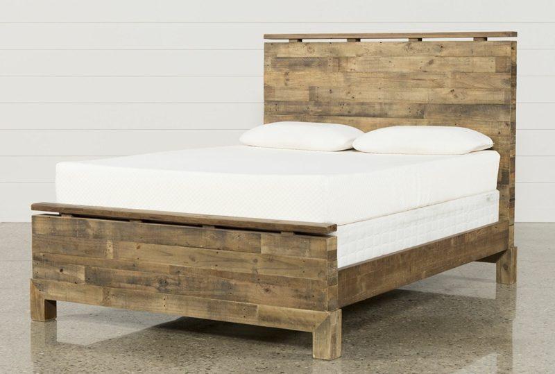 französische Betten Queen Size Holz klassishes Design