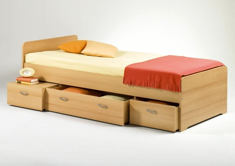Bett kaufen Bettgrößen Einzelbett
