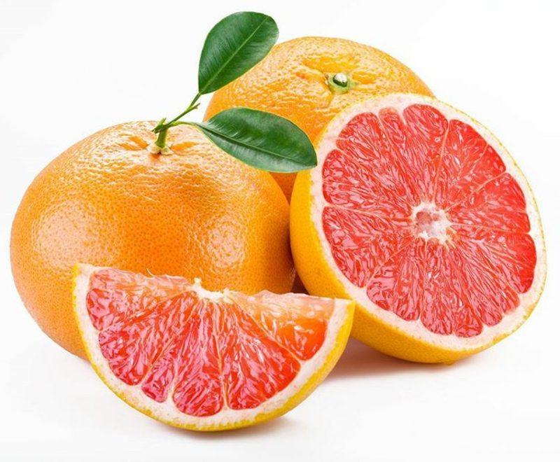 Schnupfen Kopfschmerzen Dampfbad mit Grapefruit