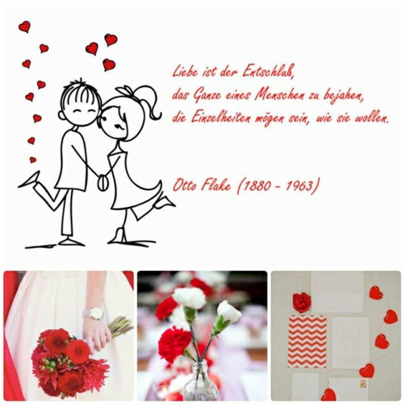 alles Gute zur Hochzeit wünschen