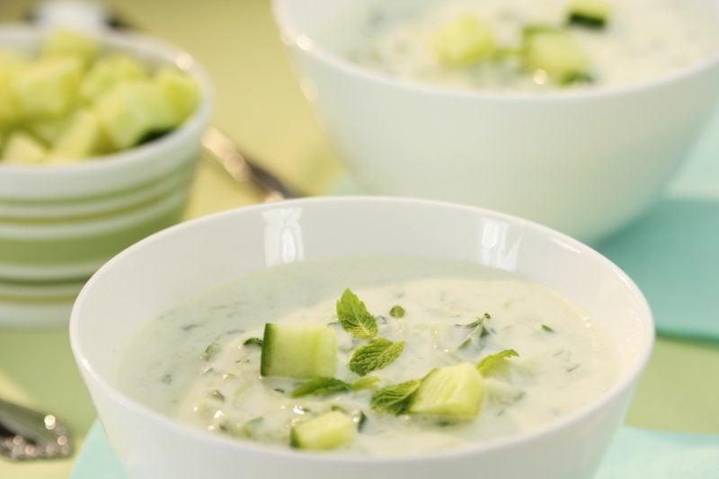 low carb Suppe aus Gurken