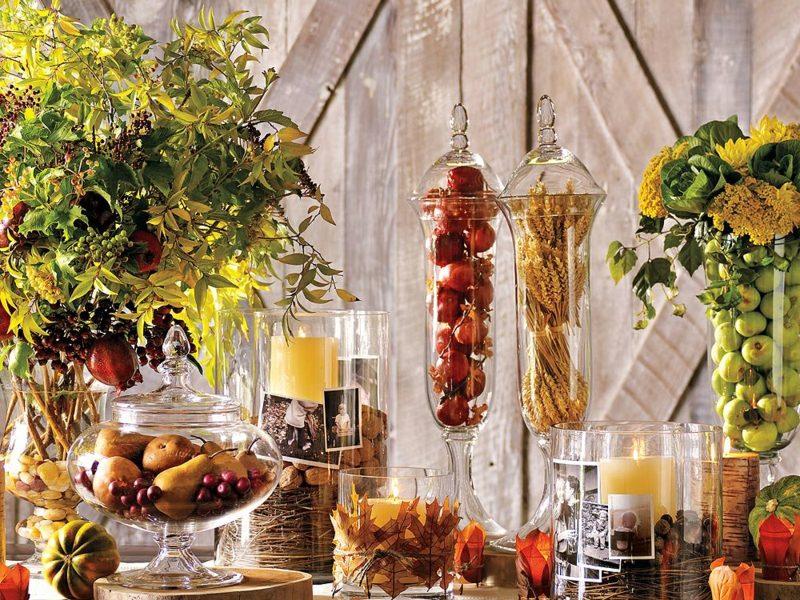 DIY Bastelideen Herbstdeko
